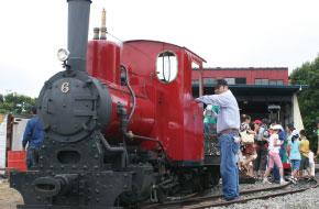 SL(蒸気機関車)運行!