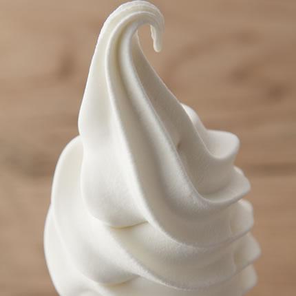 原乳仕込みのソフトクリーム