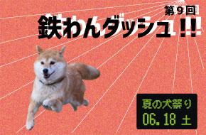 夏の犬祭り 第9回鉄わんダッシュ!!