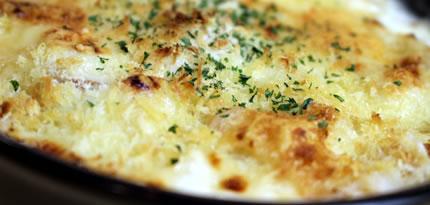 自家製チーズグラタン