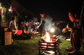 キャンプ冬のお得なサービス