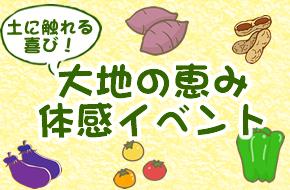 大地の恵み体感イベント~夏~