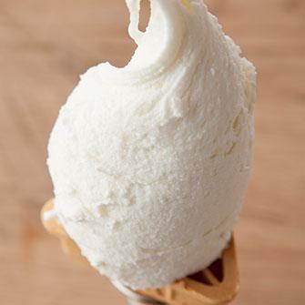 ぼくじょうのアイスクリーム
