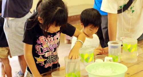 アイス作り教室